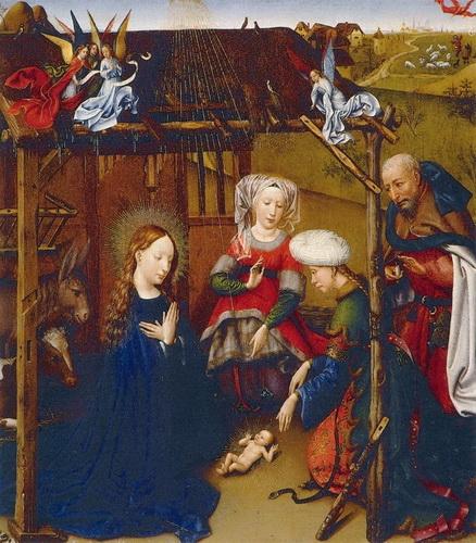 Жак Дарэ «Рождение Христа»