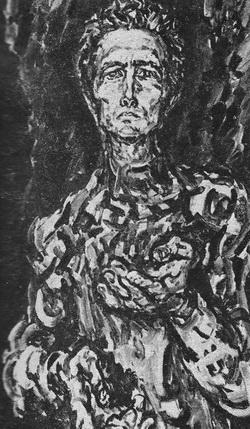 Анастас Пацев «Партизан Борис» Масло. 1980 г.