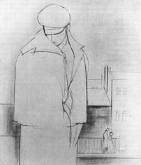 Иллюстрация к повести Ф.М. Достоевского «Белые ночи»