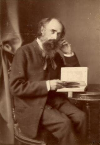 Портрет Николая Маковского. Фотография. 1886 г.