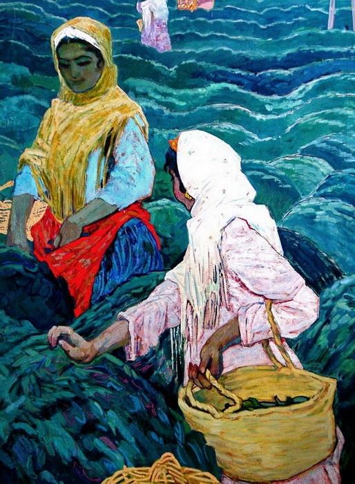 Микаил Абдуллаев. «Чайные плантации»