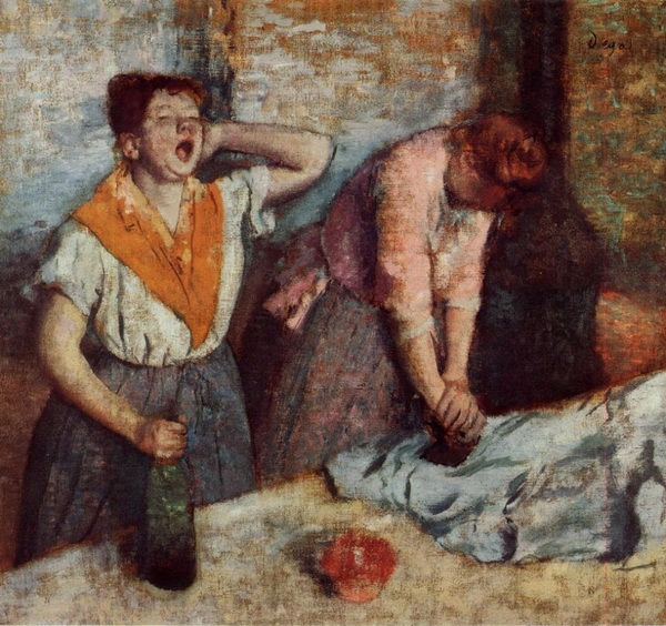 Эдгар Дега  «Гладильщицы»  1884 г.