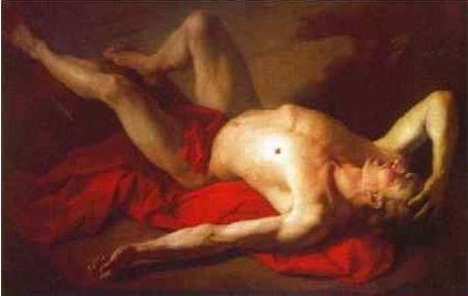 А.П. Лосенко. «Авель» Холст, масло. 1768 г.