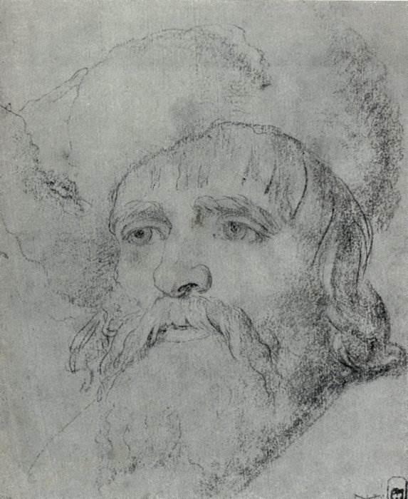 А.П. Лосенко. Голова крестьянина.