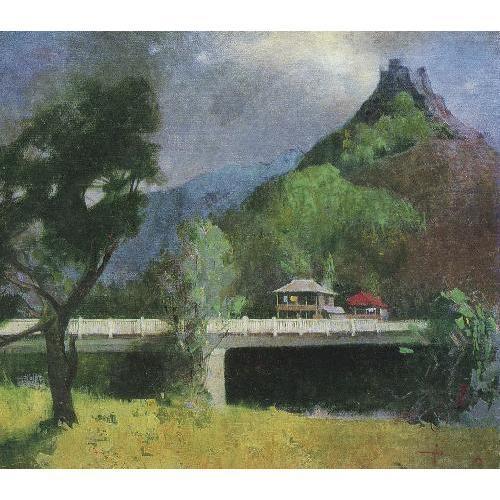 У.М. У.М. Джапаридзе «Рача» 1979 г. Музей искусств Грузии Тбилиси
