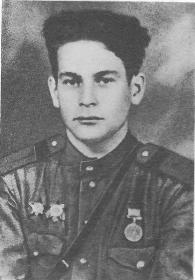 Старшина X. А. Якупов. Фото 1945 года.