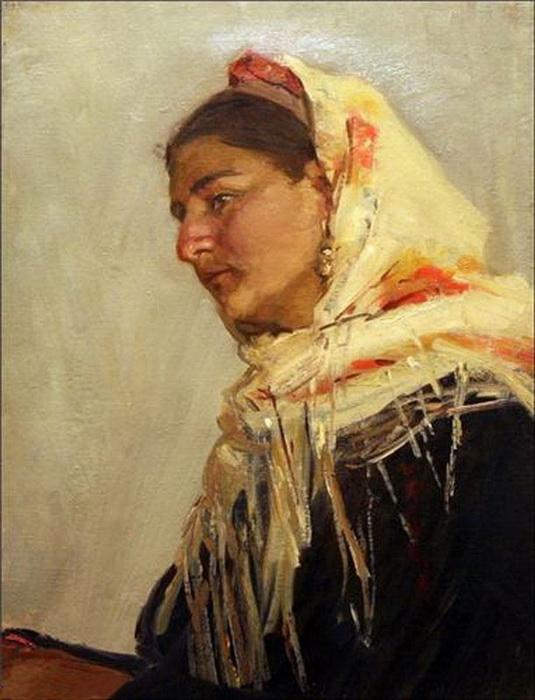 Микаил Абдуллаев. «Портрет бригадирши Рахшанды» (1954-1955 гг.)