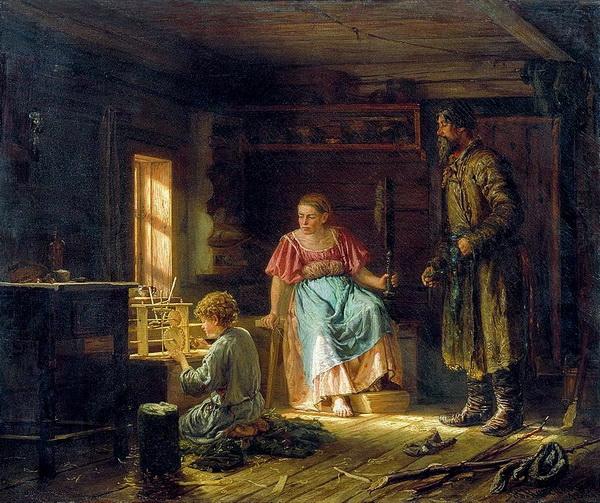 «Мальчик-механик» 1871 г. Холст, масло. Национальный художественный музей Республики Беларусь, Минск