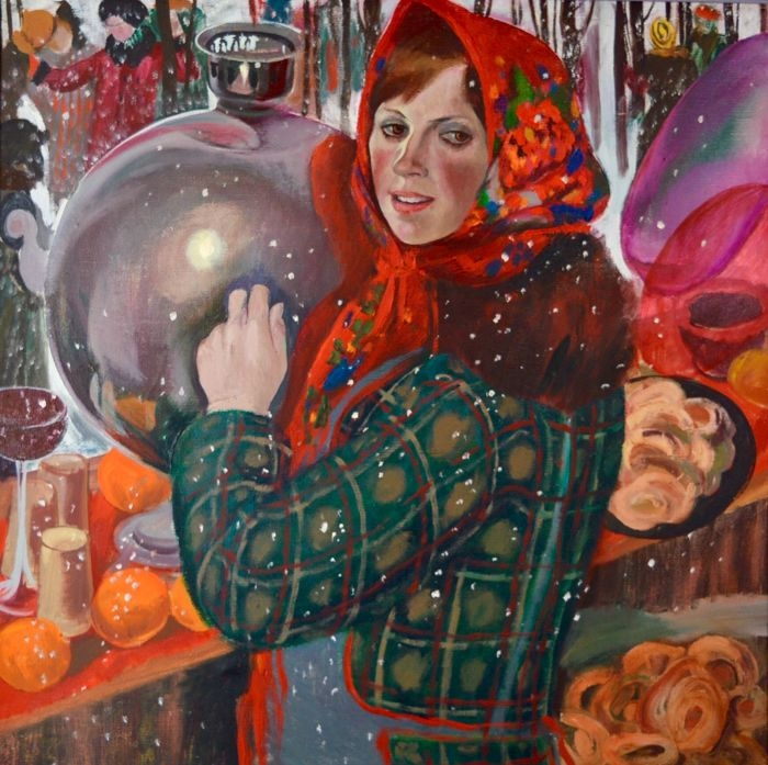 И.А. Широкова «Девушка с самоваром»