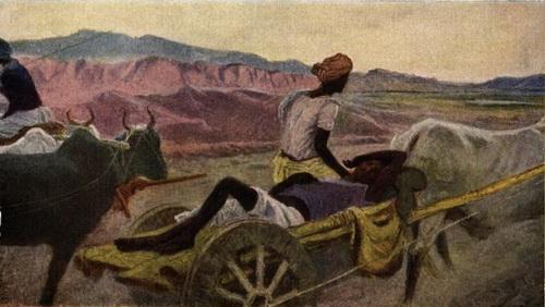 Микаил Абдуллаев. Из серии «Индия» 1958 г.