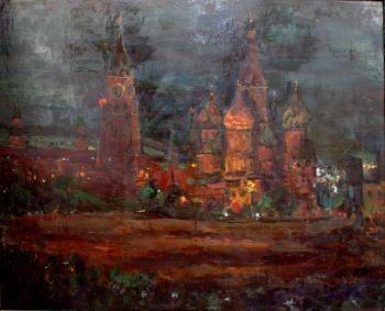 Красная площадь. 1985 г. холст, масло. 85 х 104 см