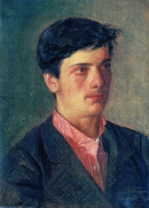 «Портрет Исаака Ильича Левитана» Авель Левитан 1879 г.
