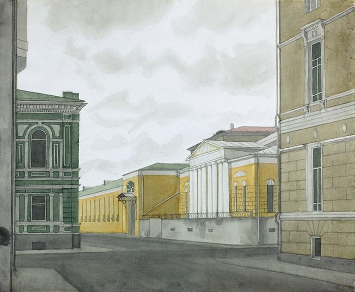 А.А. Жабский. Музей А.С. Пушкина, 1988 г.