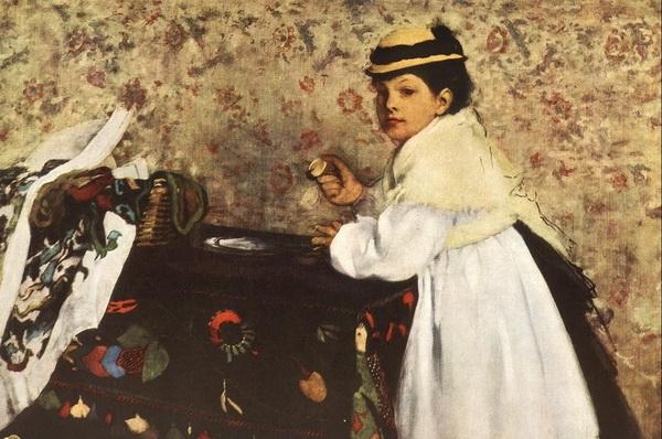 Эдгар Дега «Гортензия Вальпинсон»  1870 г.  Minneapolis Institute of Arts, Minneapolis, Minnesota, USA