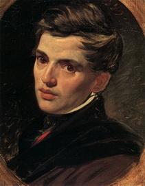 Карл Брюллов. Портрет  Александра Брюллова.