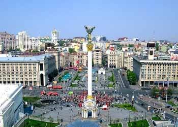А.В. Кущ. Монумент Независимости Украины в Киеве