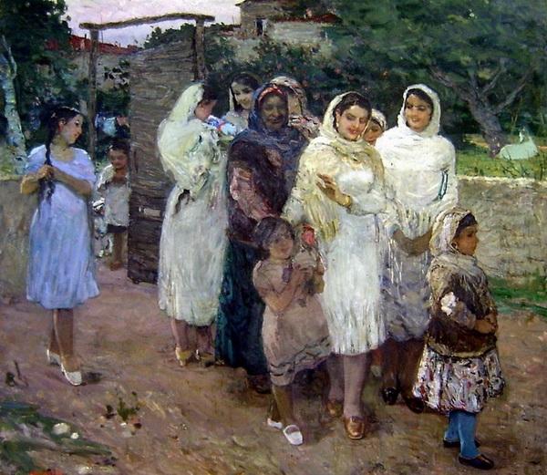 Микаил Абдуллаев. «В селе»