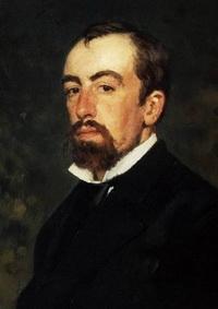 В. Д. Поленов. Портрет  работы И. Репина