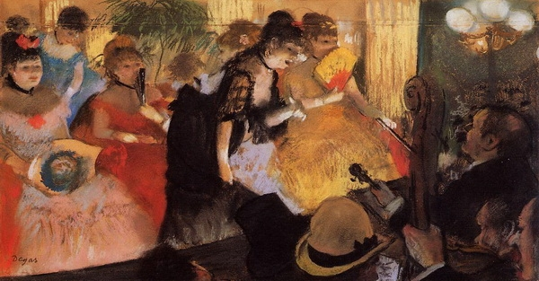 Эдгар Дега «Концерт в кафе»  1877 г.  Corcoran Gallery of Art, Washington, DC, USA