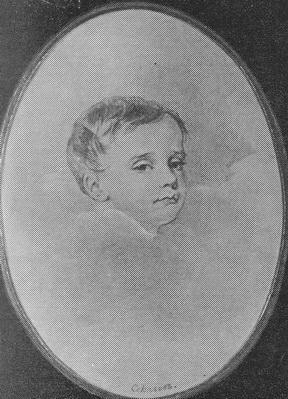 П. Соколов «Портрет Стивы Ланского» бумага, акварель, карандаш. 1826 г.