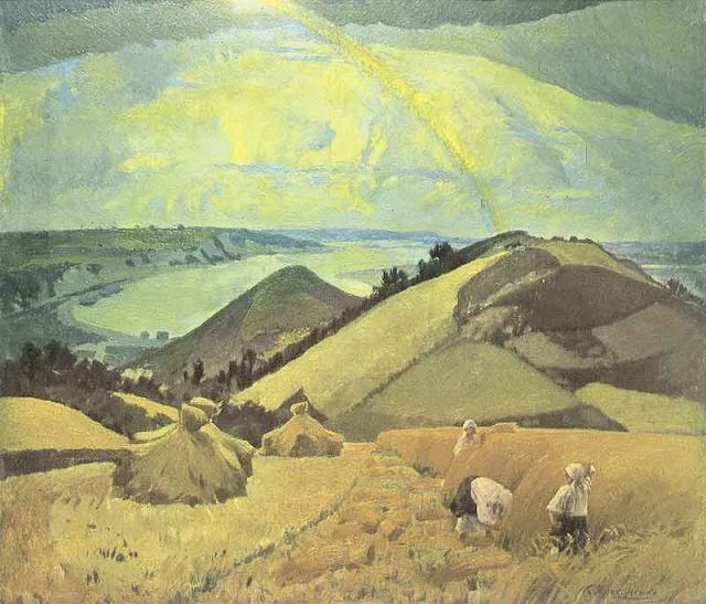К.Д. Трохименко  «Над великим шляхом»  1926 г.