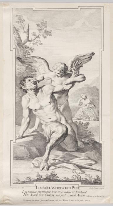 Жан-Мишель Лиотар. Гравюра с работы Карло Чиньяни.
